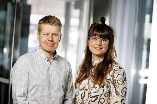 Sami Ylönen ja Tuija Tyynismaa
